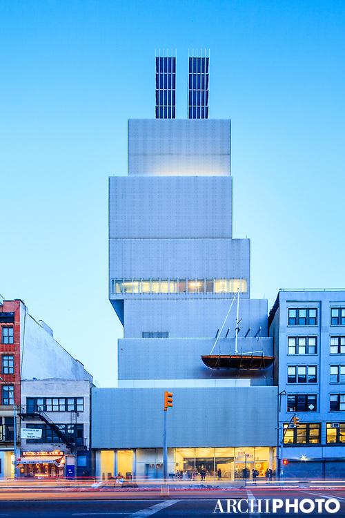 SANAA • New Museum of Contemporary Art, New York