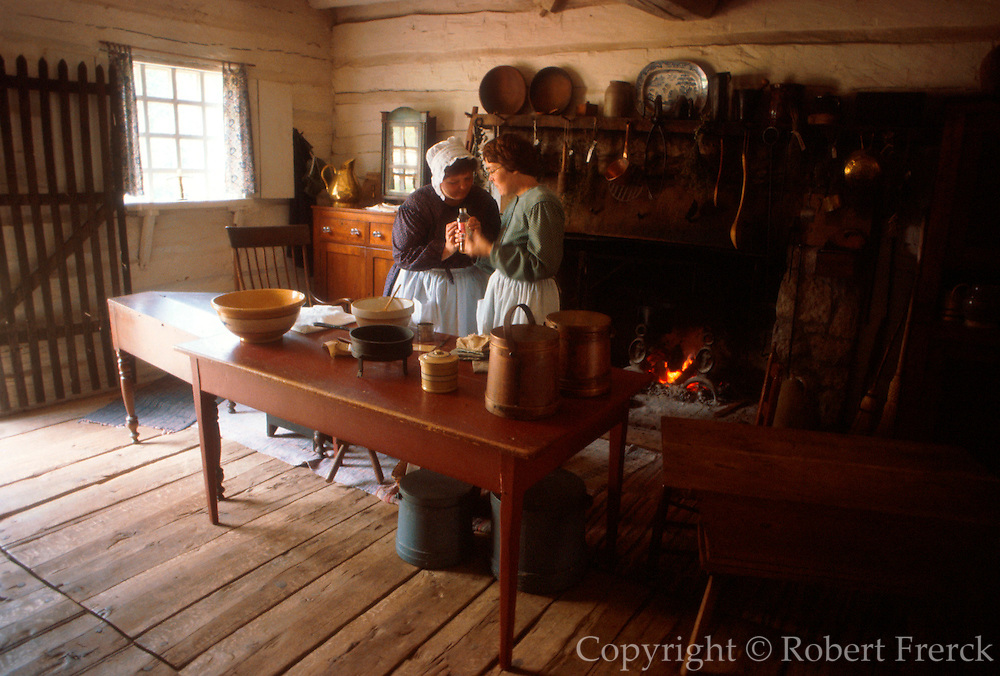 ILLINOIS, LINCOLN SITES Rutledge Tavern in New Salem