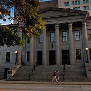 Building of the United States Custom House in Savannah, GA