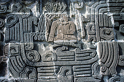 The Temple of the Feathered Serpent in Xochicalco Has Fine Stylized Depictions of That Deity