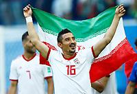 Reza Ghoochannejhad (Iran) celebration<br /> Saint Petersburg 15-06-2018 Football FIFA World Cup Russia  2018 <br /> Morocco - Iran / Marocco - Iran <br /> Foto Matteo Ciambelli/Insidefoto