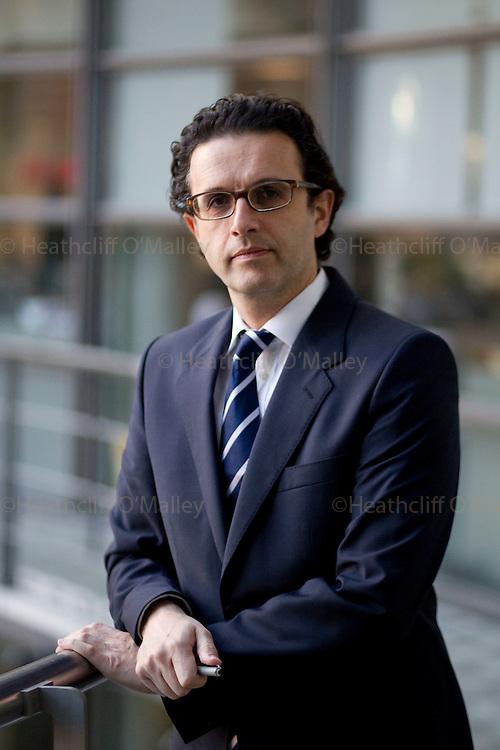 Mcc0027374 . Sunday Telegraph..ST Business..David Abraham, Chief Executive of Channel 4...London 16 November 2010