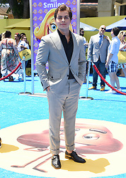 July 23, 2017 - Westwood, California, U.S. - Jake T. Austin arrives for the premiere of the film 'The Emoji Movie' at the Regency Village theater. (Credit Image: © Lisa O'Connor via ZUMA Wire)
