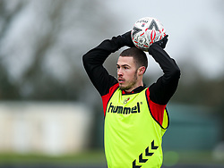 Tommy Rowe of Bristol City during a training session ahead of the FA Cup game with Portsmouth - Rogan/JMP - 07/01/2021 - Failand - Bristol, England.