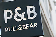 Sign for clothing shop Pull and Bear.