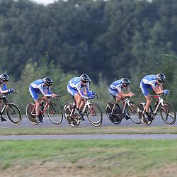 27-09-2016: Wielrennen: Olympia Tour: HardenbergHARDENBERG (NED) wielrennenNederlands oudste wielerkoers ging van start in Hardenberg met een ploegentijdrit.CT Jo Piels