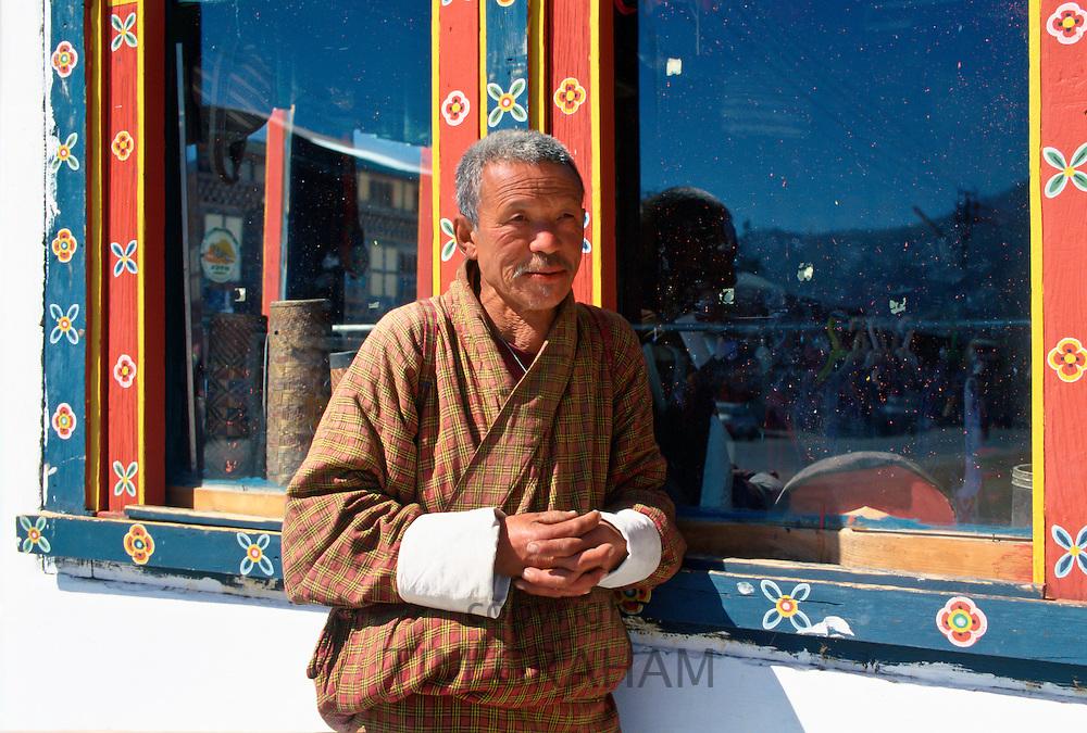 Man in Paro, Butan