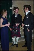 ELLIE GILJE; JAMIE LINDSAY; LOU OSMAN, Oxford University Polo club Ball, Blenheim Palace. Woodstock. 6 March 2015