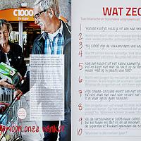 Nederland, 14 november 2014 ,<br /> Personeelsblad van C1000, TEAM genaamd.<br /> Laatste uitgave<br /> Foto:Jean-Pierre Jans