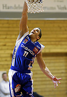 Basketball<br /> Seriestart BLNO<br /> Rykkinhallen<br /> 03.10.2009<br /> Tromsø Storm v Frøya<br /> Foto: Morten Olsen, Digitalsport<br /> <br /> Hani Issalhi - Tromsø