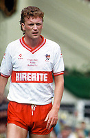 Fotball<br /> Foto: Colorsport/Digitalsport<br /> NORWAY ONLY<br /> <br /> David Moyes (Bristol City) Freight Rover Final @ Wembley. 1987. Bristol City v Mansfield Town