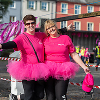 REPRO FREE<br /> Anne O'Toole and Bernie Robinson from Bray pictured at the 2019 Kinsale Pink Ribbon Walk in aid of the Irish Cancer Society Action Breast Cancer.<br /> Picture. John Allen