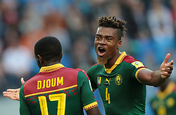 June 22, 2017 - Saint Petersburg, Russia - Tim Cahill of the Cameroon national football team reacts during the 2017 FIFA Confederations Cup match, first stage - Group B between Cameroon and Australia at Saint Petersburg Stadium on June 22, 2017 in St. Petersburg, Russia. (Credit Image: © Igor Russak/NurPhoto via ZUMA Press)