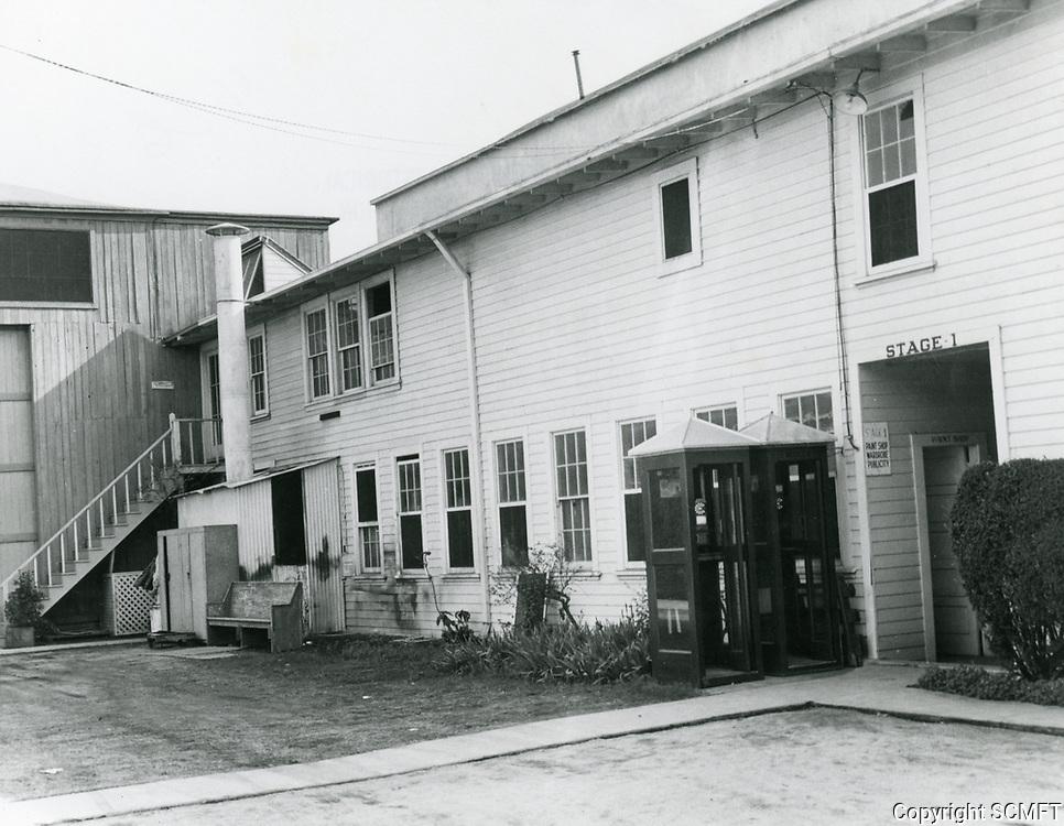 1950 Stage 1 at Chaplin Studios on La Brea Ave.