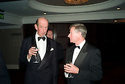 The Duke of Kent and Timothy Walker, Russian Rhapsody. Gala dinner and concert. the Great Room, Grosvenor House. London. 21 April 2008. *** Local Caption *** -DO NOT ARCHIVE-© Copyright Photograph by Dafydd Jones. 248 Clapham Rd. London SW9 0PZ. Tel 0207 820 0771. www.dafjones.com.