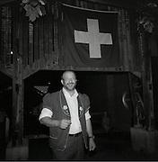 Alfonso, secondo aus Italien, ist Leadsänger des Jodelclubs Edelweiss. Alfonso, secondo devenu Suisse estun des meilleurs solistes du club de Jodel Edelweiss, Fribourg. © Romano P. Riedo