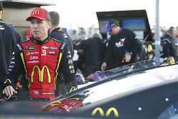 October 19, 2018 - Kansas City, Kansas, United States of America - Jamie McMurray (1) hangs out on pit road prior to qualifying for the Hollywood Casino 400 at Kansas Speedway in Kansas City, Kansas. (Credit Image: © Justin R. Noe Asp Inc/ASP via ZUMA Wire)