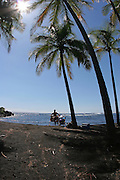 Punalu'u Black Sand Beach, Island of Hawaii