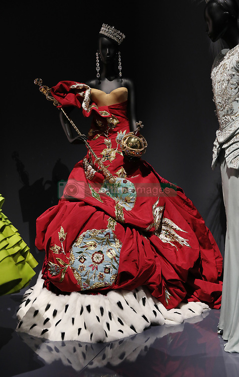 Christian Dior by John Galliano, (b. 1960), Haute Couture,  Autumn/Winter 2001 into the 'Christian Dior: Designer of Dreams' at the Victoria and Albert Museum, London. Picture dated: Wednesday January 30, 2019. Photo credit should read: Isabel Infantes / EMPICS Entertainment.