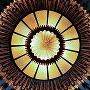Light fitting, Barcelona, Spain (December 2006)