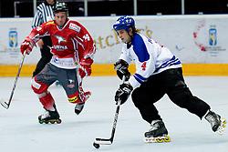 29.06.2010, Löfbergs Lila Arena, Karlstad, SWE, IIHF In Line Hockey World Championships 2010, Finland (FIN) vs Austria (AUT), im Bild Petri Partanen of Finland. EXPA Pictures © 2010, PhotoCredit: EXPA/ Sportida/ Matic Klansek Velej +++ Slovenia OUT +++