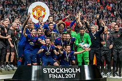 24-05-2017 SWE: Final Europa League AFC Ajax - Manchester United, Stockholm<br /> Finale Europa League tussen Ajax en Manchester United in het Friends Arena te Stockholm / Team Manchester United