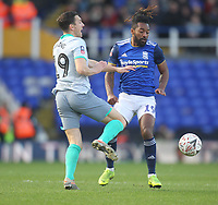 Blackburn Rovers Stewart Downing in action with Birmingham City's Jacques Maghoma<br /> <br /> Photographer Mick Walker/CameraSport<br /> <br /> Emirates FA Cup Third Round - Birmingham City v Blackburn Rovers - Saturday 4th January 2020 - St Andrew's - Birmingham<br />  <br /> World Copyright © 2020 CameraSport. All rights reserved. 43 Linden Ave. Countesthorpe. Leicester. England. LE8 5PG - Tel: +44 (0) 116 277 4147 - admin@camerasport.com - www.camerasport.com
