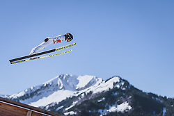 02.03.2021, Oberstdorf, GER, FIS Weltmeisterschaften Ski Nordisch, Oberstdorf 2021, Herren, Nordische Kombination, Einzelbewerb, Skisprung HS 137, im Bild Akito Watabe (JPN) // Akito Watabe of Japan during a trainings session for the ski Jumping HS 137 Competition of men Nordic combined Single of FIS Nordic Ski World Championships 2021 in Oberstdorf, Germany on 2021/03/02. EXPA Pictures © 2021, PhotoCredit: EXPA/ Dominik Angerer