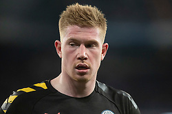 Manchester City's Kevin de Bruyne during the UEFA Champions League round of 16 first leg match Real Madrid v Manchester City at Santiago Bernabeu stadium on February 26, 2020 in Madrid, Sdpain. Real was defeated 1-2. Photo by David Jar/AlterPhotos/ABACAPRESS.COM