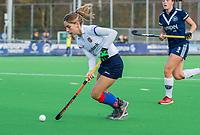 AMSTELVEEN - Miloe Jaeger (SCHC)  tijdens de competitie hoofdklasse hockeywedstrijd dames, Pinoke-SCHC (1-8) . COPYRIGHT KOEN SUYK