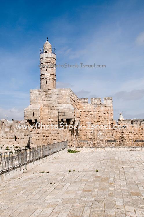 Israel, Jerusalem, Old City, Tower of David