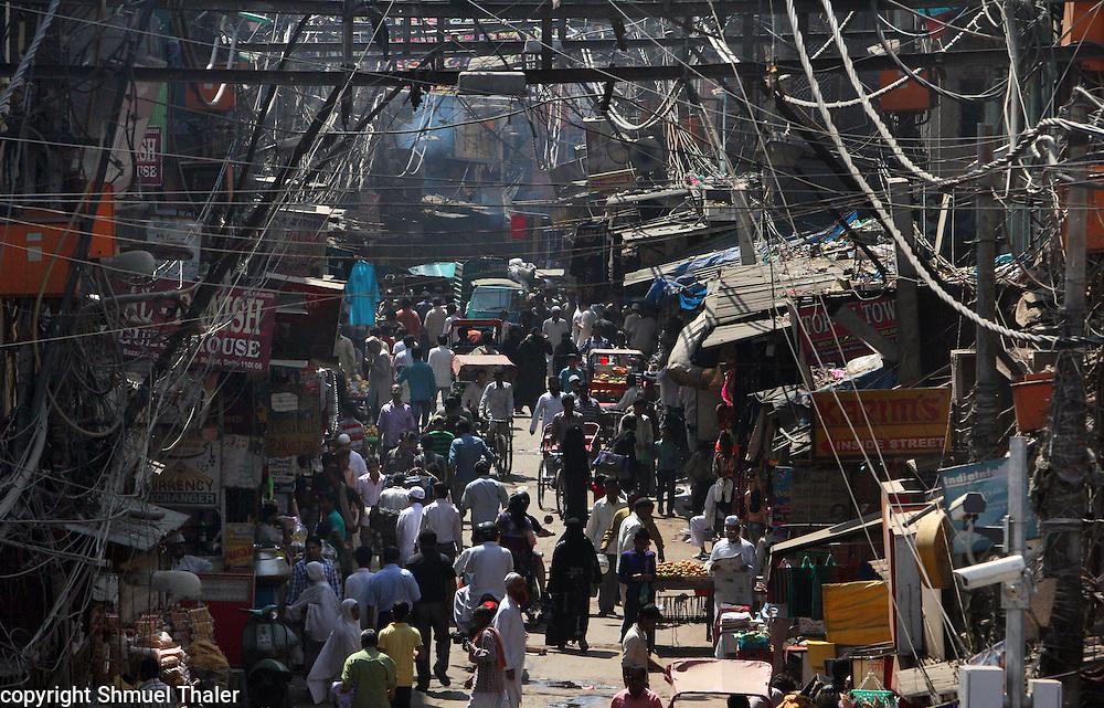 Old Delhi<br /> India<br /> Photo by Shmuel Thaler <br /> shmuel_thaler@yahoo.com www.shmuelthaler.com
