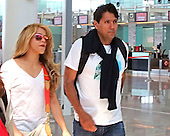 Shakira on the way to Colombia