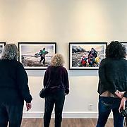 Akbaduna, a solo exhibition of my work on the refugee crisis-AKA Gallery, Portland, OR, 2017.