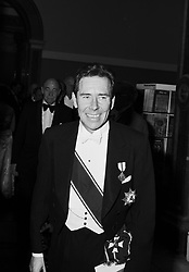 The EARL OF SNOWDON at the Royal Academy of Art annual dinner in May 1981.