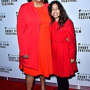 Gurinder Chadha attend TriForce Short Festival, on 30 November 2019, at BFI Southbank, London, UK.