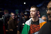 DALLAS, TX - MARCH 14:  Joseph Duffy walks to the octagon during UFC 185 at the American Airlines Center on March 14, 2015 in Dallas, Texas. (Photo by Cooper Neill/Zuffa LLC/Zuffa LLC via Getty Images) *** Local Caption *** Joseph Duffy