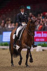 Oatley Lyndal (AUS) - Sandro Boy 9<br /> Reem Acra FEI World Cup Dressage <br /> London International Horse Show Olympia 2013<br /> © Hippo Foto - Jon Stroud