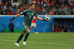 June 19, 2018 - SãO Petersburgo, Rússia - SÃO PETERSBURGO, MO - 19.06.2018: RUSSIA VS EGYPT - Akinfeev during the match between Russia and Egypt valid for the 2018 World Cup held at the Zenit Arena in St. Petersburg, Russia. (Credit Image: © Ricardo Moreira/Fotoarena via ZUMA Press)
