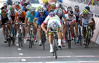 Sykkel<br /> UCI VM 2014<br /> Ponferrada Spania<br /> 26.09.2014<br /> Foto: PhotoNews/Digitalsport<br /> NORWAY ONLY<br /> <br /> Bystrøm Sven Erik of Norway - 2nd Ewan Caleb (AUS) - 3th Skjerping Kristoffer (NOR) - 4th Benoot Tiesj (BEL) pictured during the Men Under 23 Road Race of the UCI Road World Championships in Ponferrada, Spain.<br /> Sondre Holst Enger