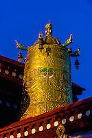 Jokhang Temple, Lhasa, Tibet (Xizang), China.
