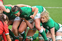Rugby Union - 2021 Women's Six Nations - Group B - Round Two - Wales vs Ireland - Cardiff Arms Park<br /> <br /> Lindsay Peat (Railway Union/Leinster) of Ireland packs down to scrummage<br /> <br /> COLORSPORT/WINSTON BYNORTH