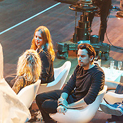 NLD/Utrecht/20150409 - Uitreiking 3FM Awards 2015, Maaike Ouboter en Dotan
