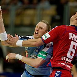 20100124: Handball -  Slovenia vs. Czech rep. - Men's European Handball Championship 2010, Austria