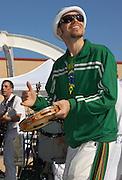 Batuxace in concert at Carnaval Spring Festival in Tucson, Arizona.