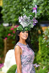 Jackie St Clair during day one of Royal Ascot at Ascot Racecourse