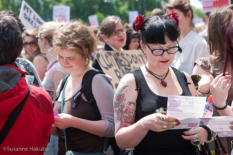 Slutwalk, London, UK
