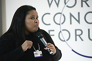 Lindiwe Mazibuko, Co-Founder and Executive Director, Apolitical Foundation, South Africa; Young Global Leader speaking during the session Promoting Female Leadership at the World Forum World Economic Forum on Africa 2019. Copyright by World Economic Forum / Greg Beadle