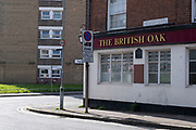 Closed down The British Oak pub building near the city centre on 31st March 2021 in Birmingham, United Kingdom. The national lockdown has been a huge blow to the economy and for individual businesses in Britains second city.