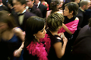 On Carnival Saturday people from medium and upper class from all ages  and formal dressed, dance and drink until the morning in Ponta Delgadas  Casino. Ponta Delgada is the capital city of Sao Miguel island, the main one of the portuguese belonging Azores archipelago.